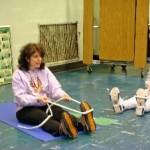 marjorie brook STRAIT method stretching demonstration