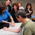 marjorie brook STRAIT method seminar wrist scar therapy demonstration