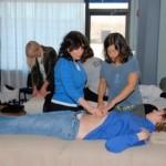 marjorie brook STRAIT method seminar abdomen scar massage