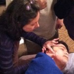 marjorie brook demonstrating scar tissue release therapy