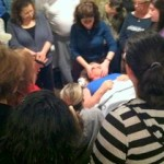 marjorie brook demonstrating scar tissue release