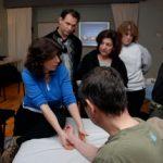 marjorie brook STRAIT method seminar stretching demonstration